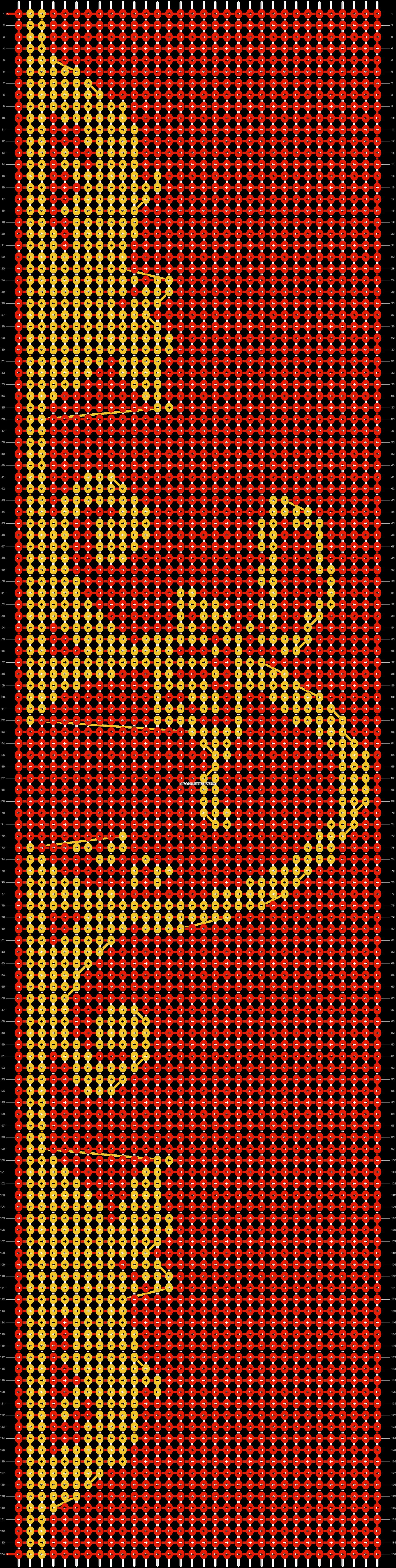 Alpha pattern #11088 pattern