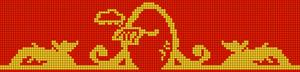 Alpha Friendship Bracelet Pattern #11088
