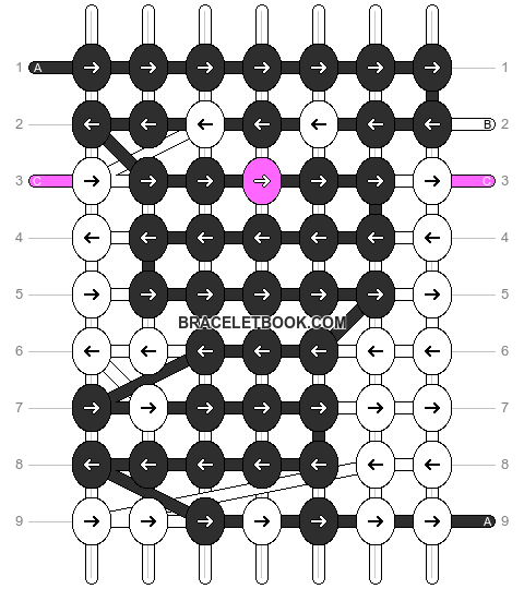 Alpha pattern #11091 pattern