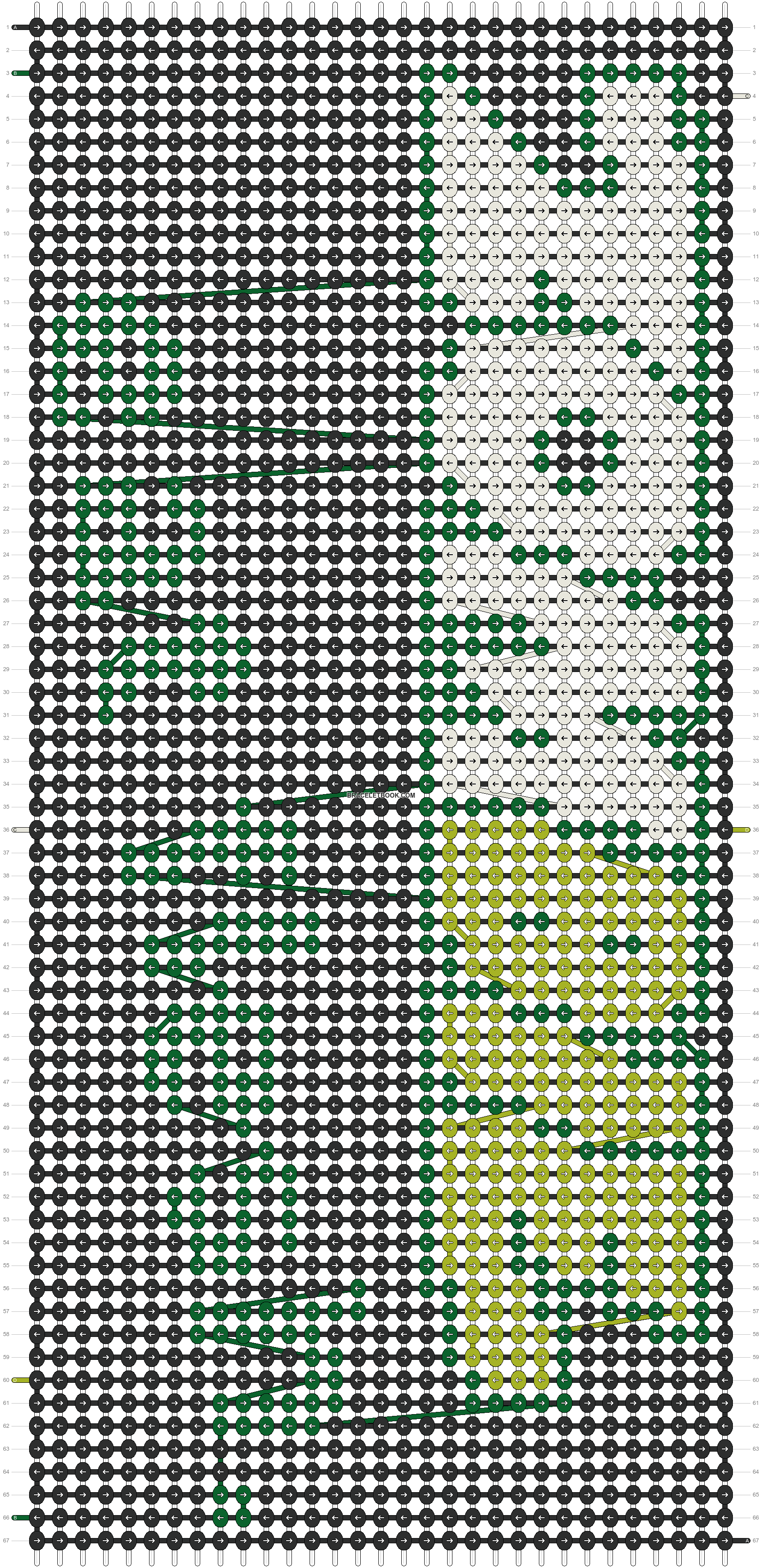 Alpha pattern #11092 pattern