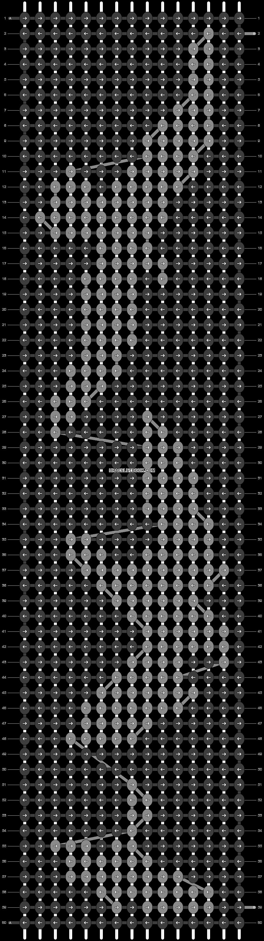 Alpha pattern #11117 pattern