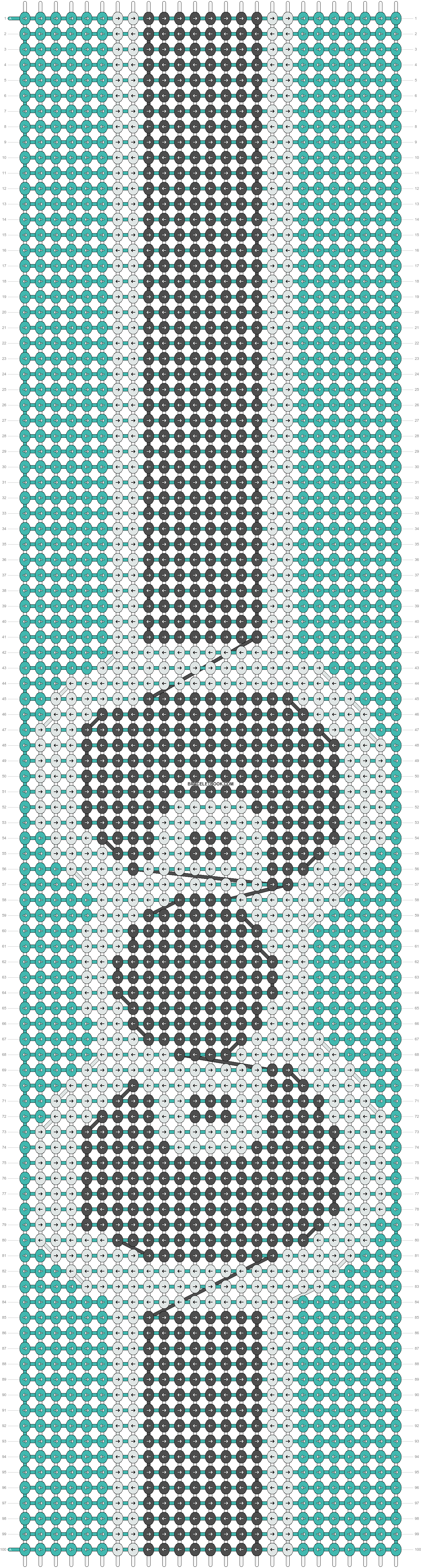 Alpha pattern #11120 pattern