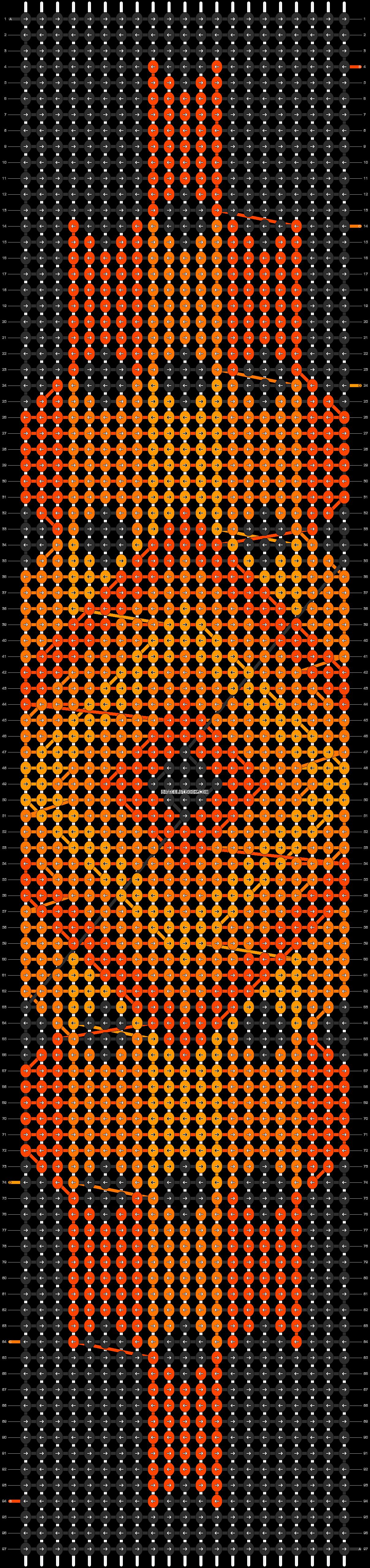Alpha pattern #11124 pattern