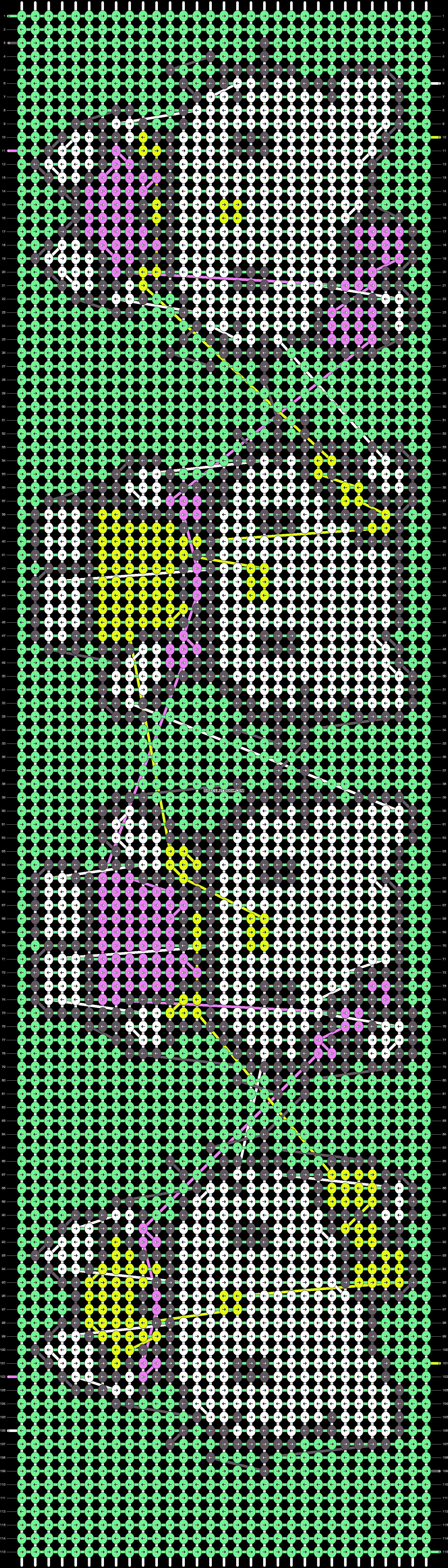Alpha pattern #11127 pattern