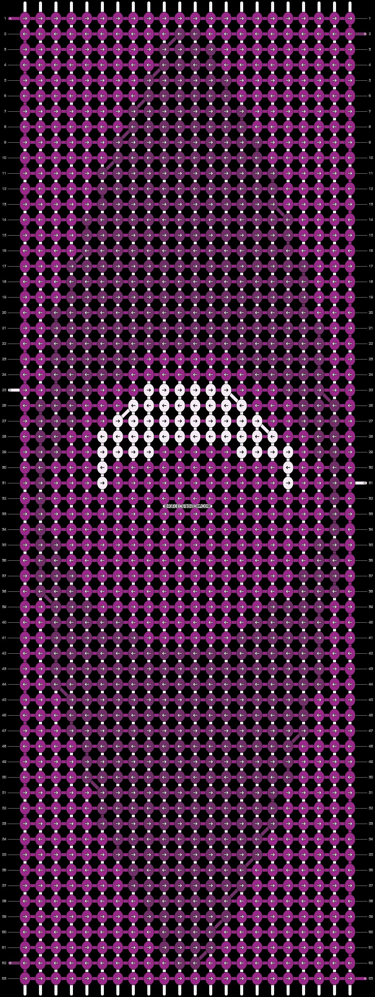 Alpha pattern #11128 pattern