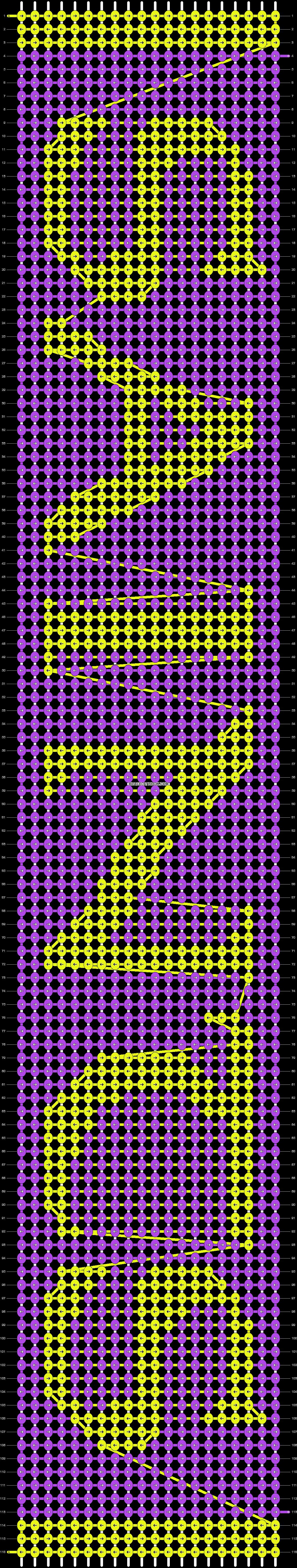 Alpha pattern #11129 pattern