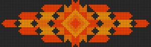Alpha Friendship Bracelet Pattern #11132