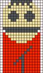 Alpha Friendship Bracelet Pattern #11136