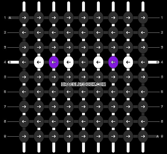 Alpha pattern #11142 pattern