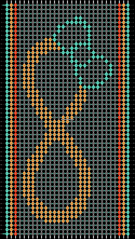 Alpha pattern #11150 pattern