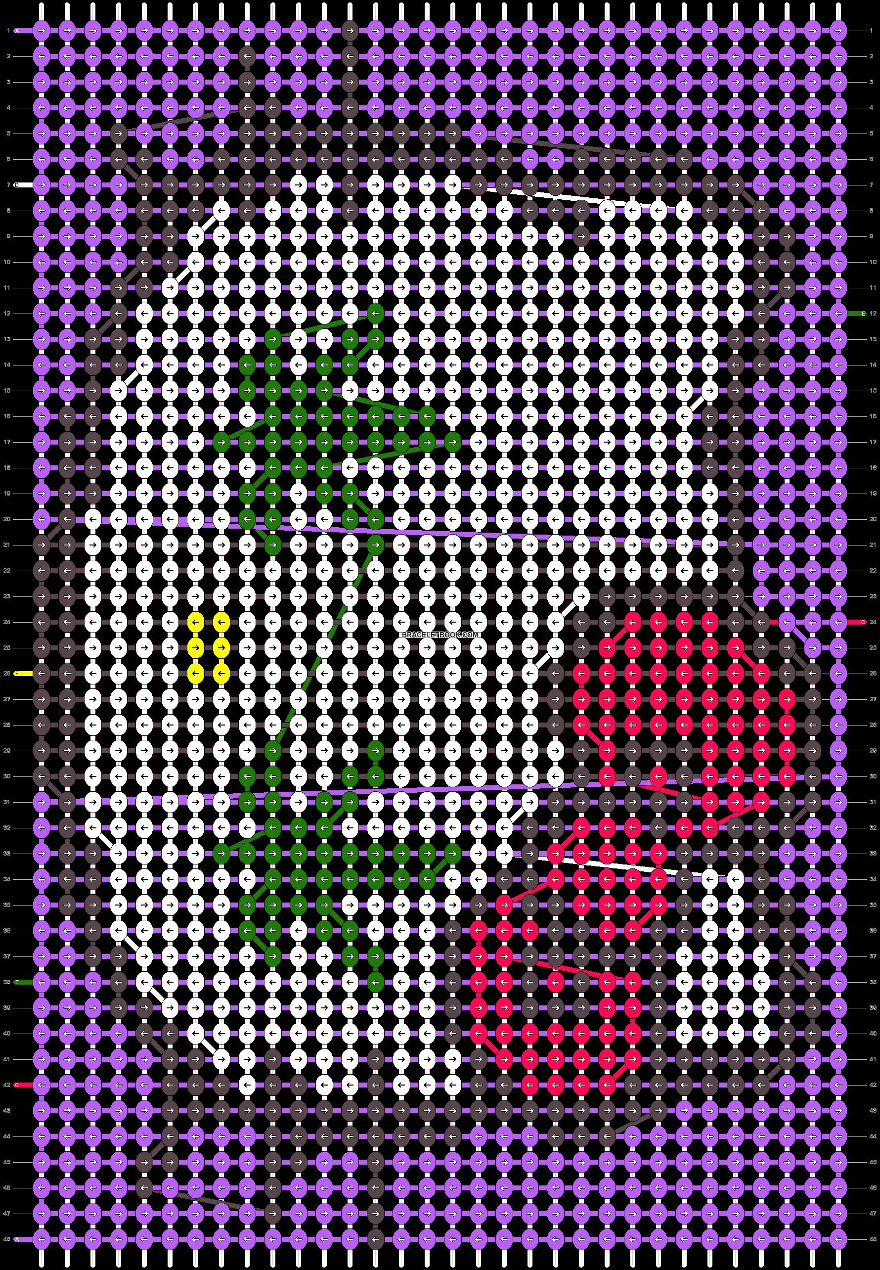 Alpha pattern #11153 pattern