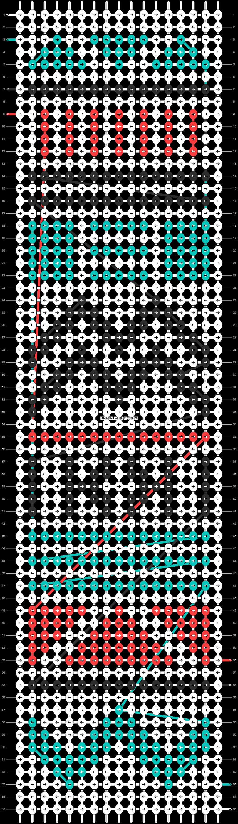 Alpha pattern #11157 pattern