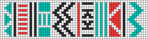 Alpha pattern #11157