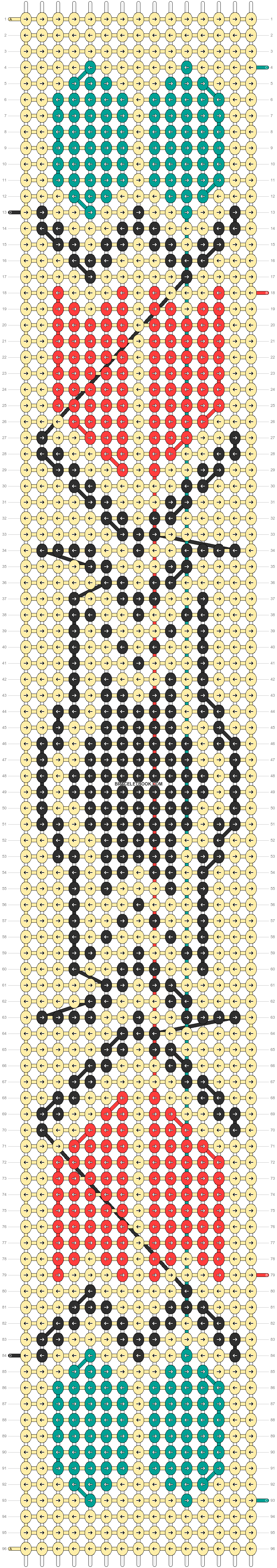 Alpha pattern #11158 pattern