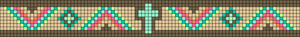 Alpha Friendship Bracelet Pattern #11159
