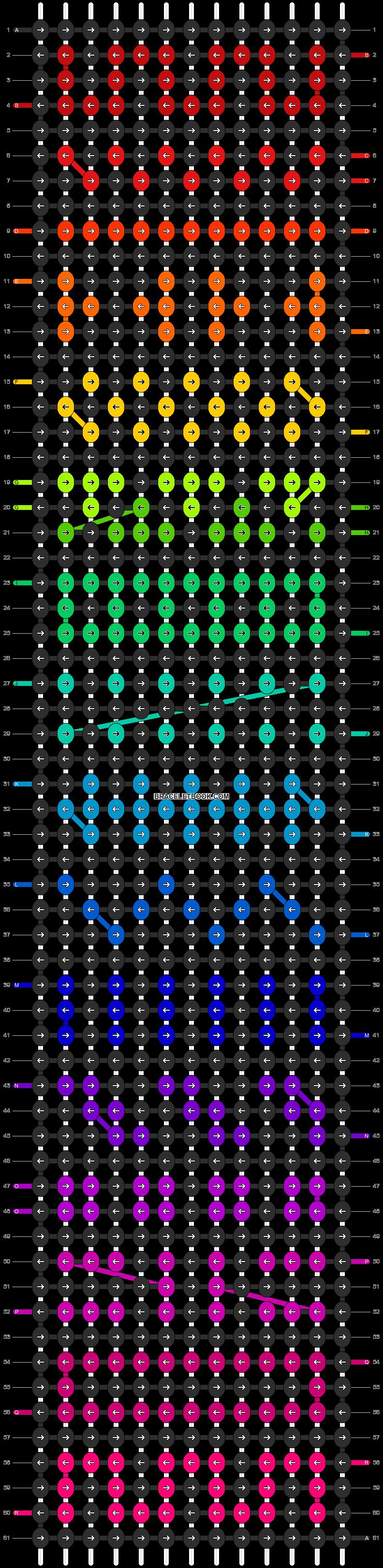 Alpha pattern #11165 pattern