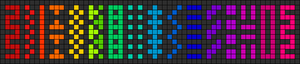 Alpha pattern #11165