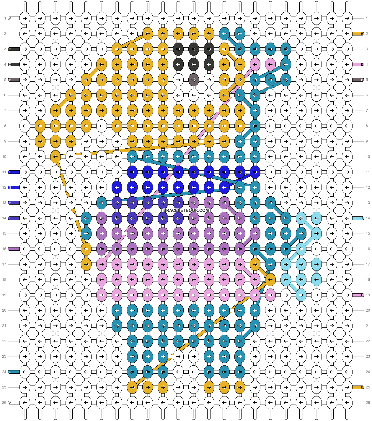 Alpha pattern #11170 pattern