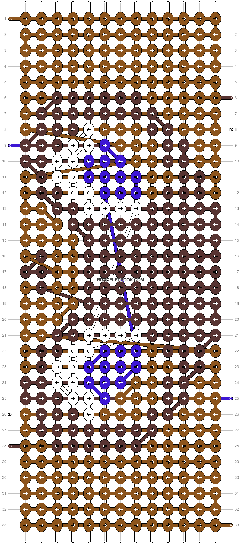 Alpha pattern #11182 pattern