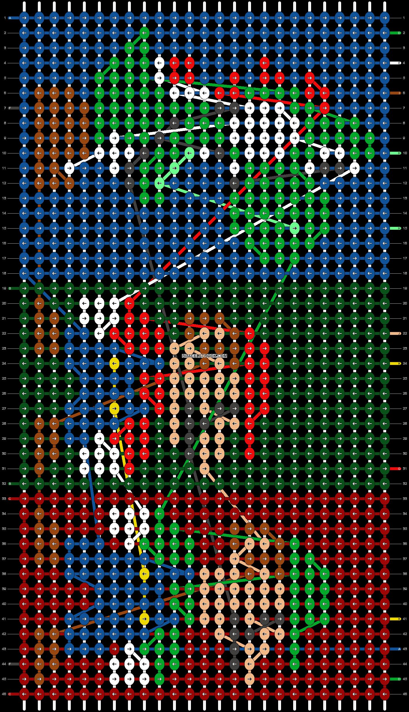 Alpha pattern #11184 pattern