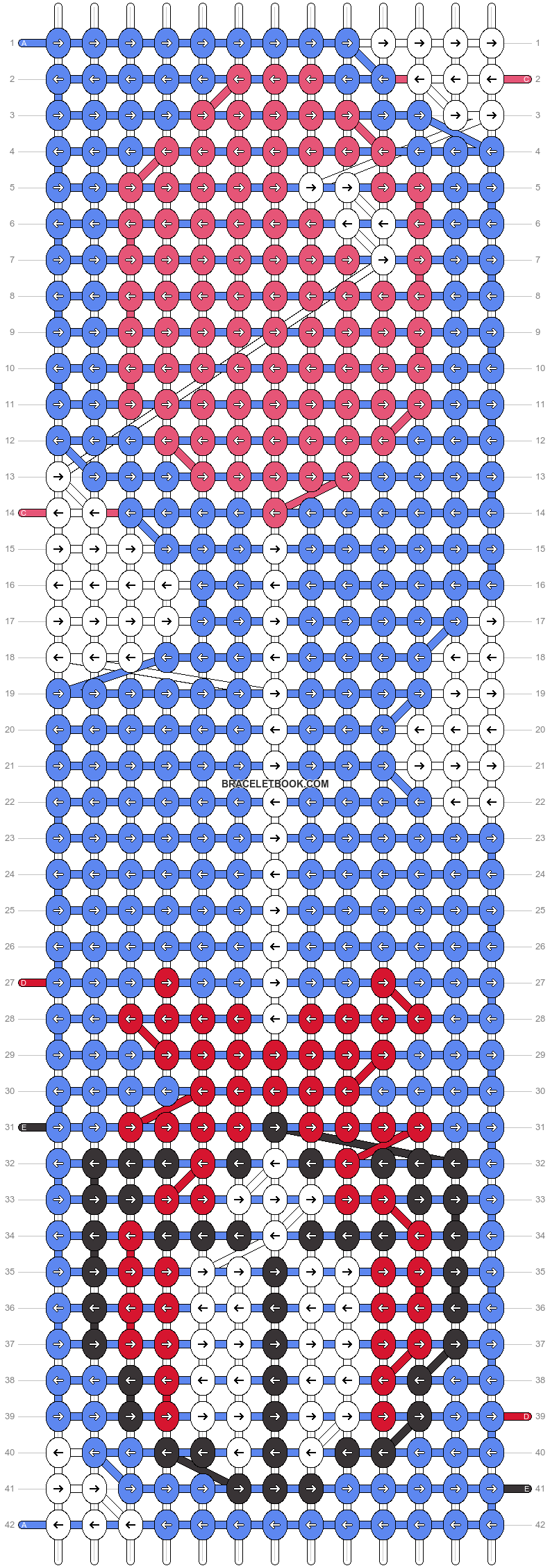 Alpha pattern #11185 pattern