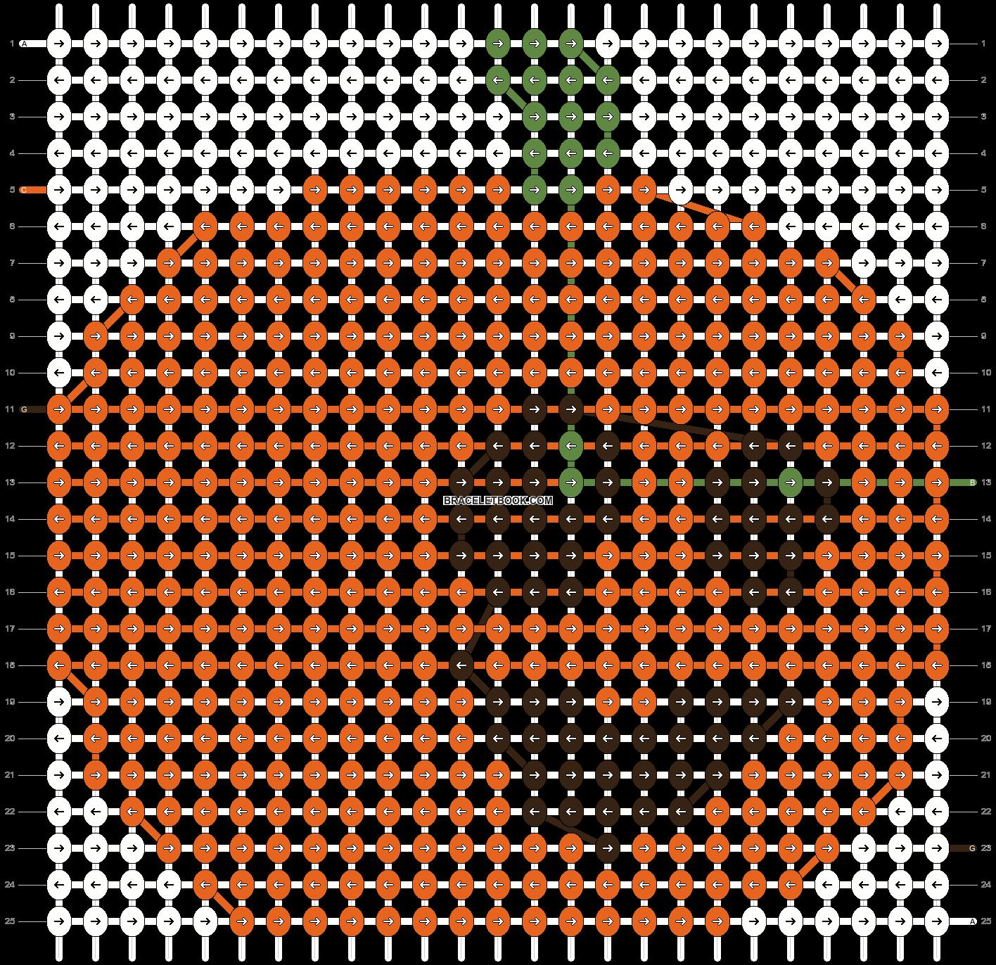 Alpha pattern #11210 pattern