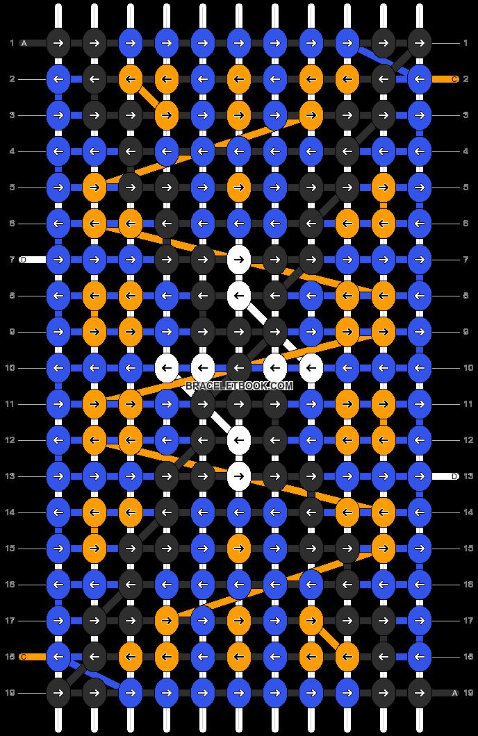 Alpha pattern #11211 pattern