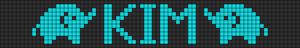 Alpha Friendship Bracelet Pattern #11216