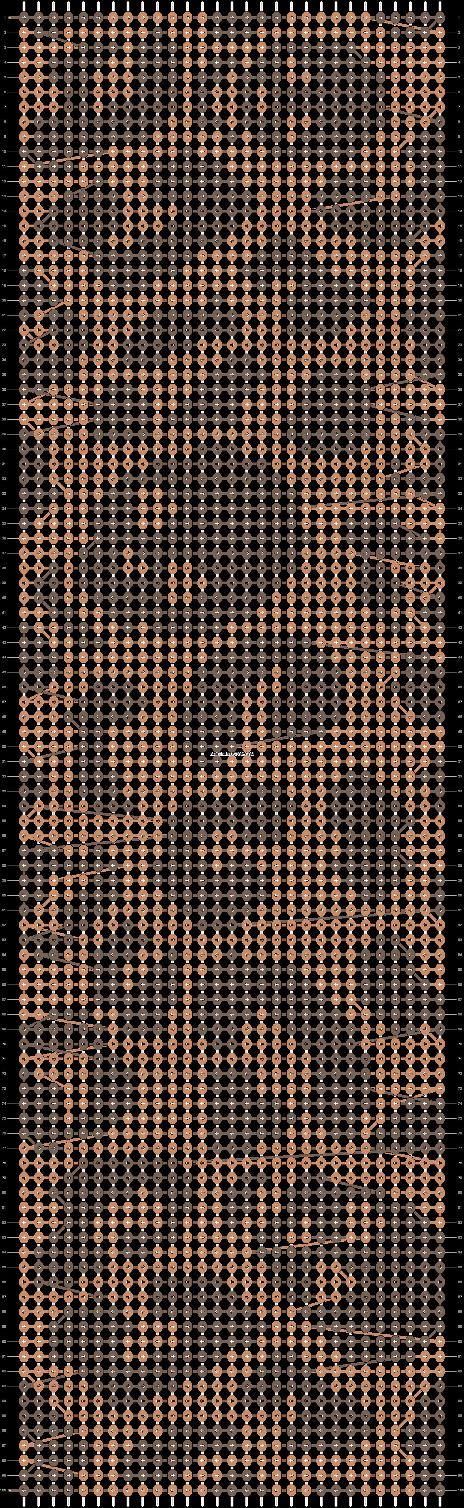 Alpha pattern #11217 pattern