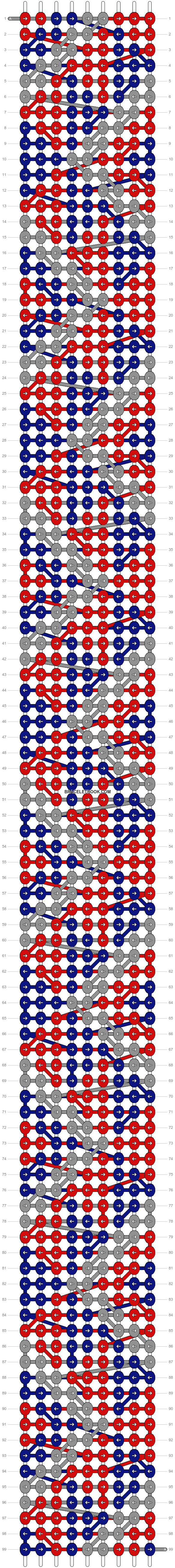 Alpha pattern #11220 pattern