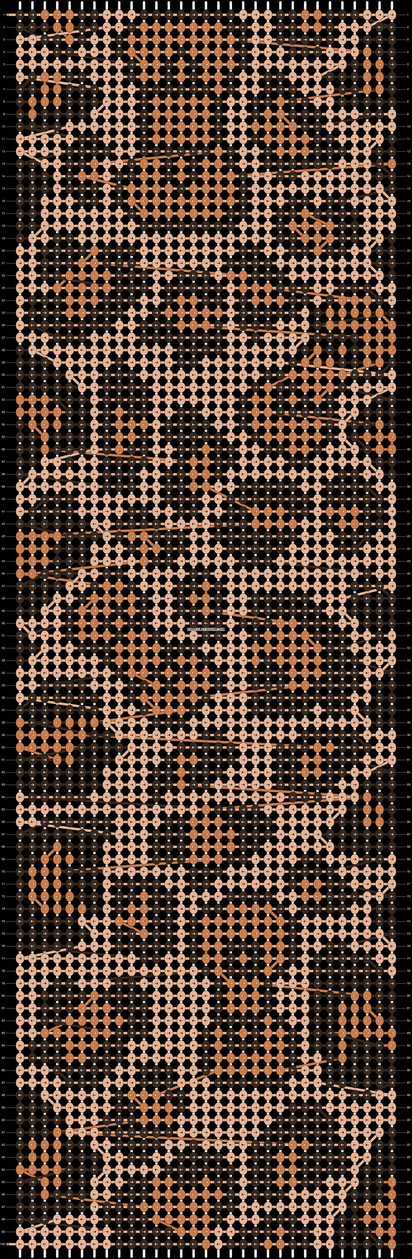 Alpha pattern #11262 pattern