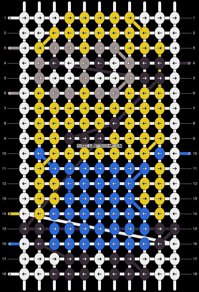 Alpha pattern #11281 pattern