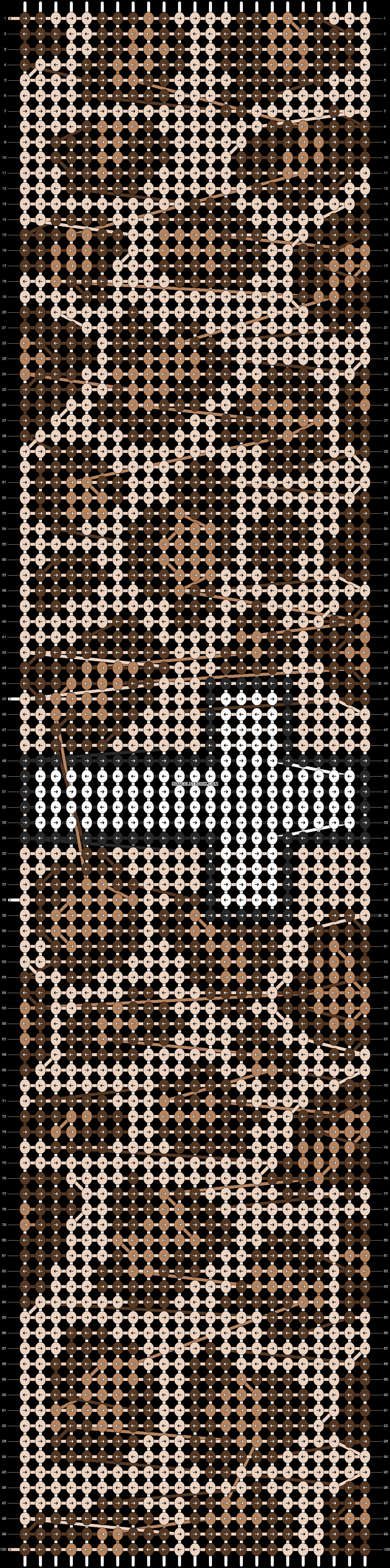 Alpha pattern #11282 pattern