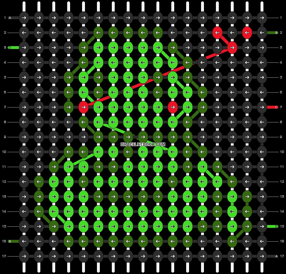 Alpha pattern #11284 pattern