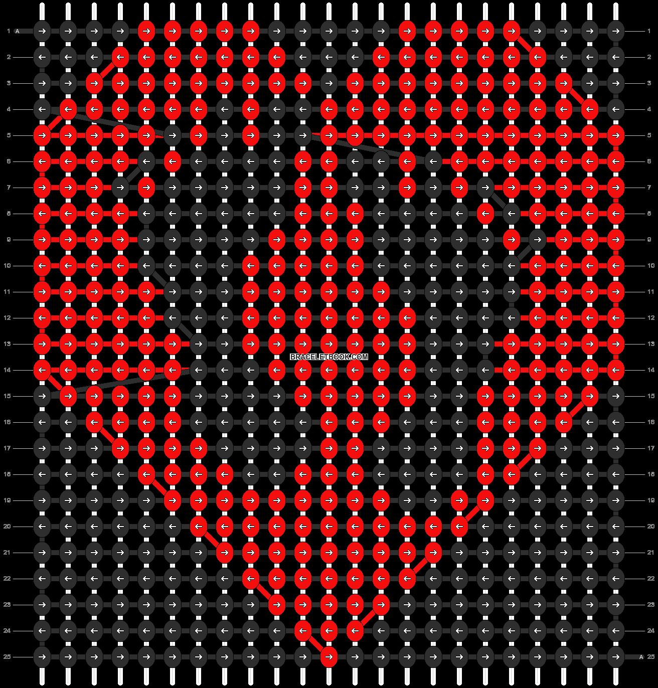 Alpha pattern #11285 pattern