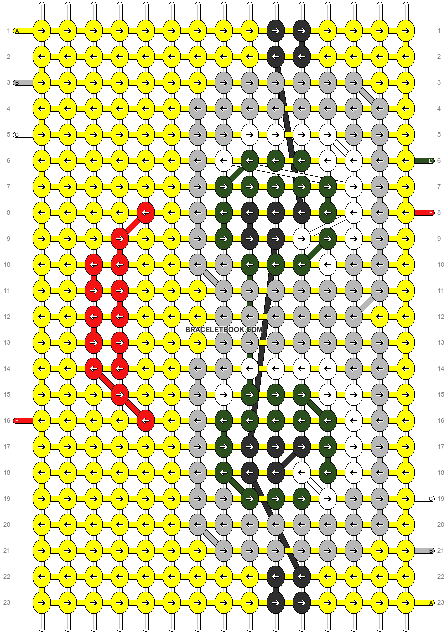 Alpha pattern #11286 pattern