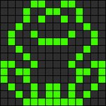 Alpha pattern #11287