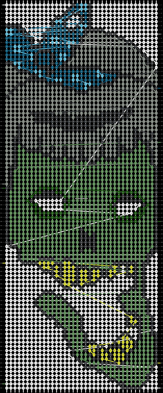 Alpha pattern #11289 pattern