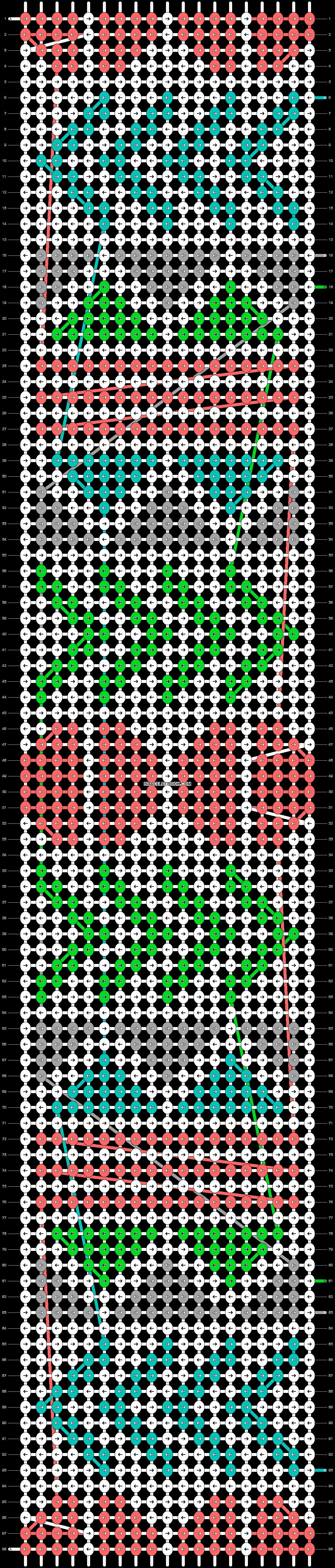 Alpha pattern #11293 pattern