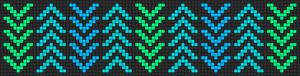 Alpha Friendship Bracelet Pattern #11301