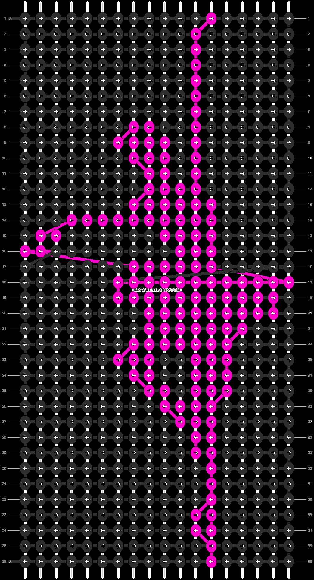 Alpha pattern #11304 pattern