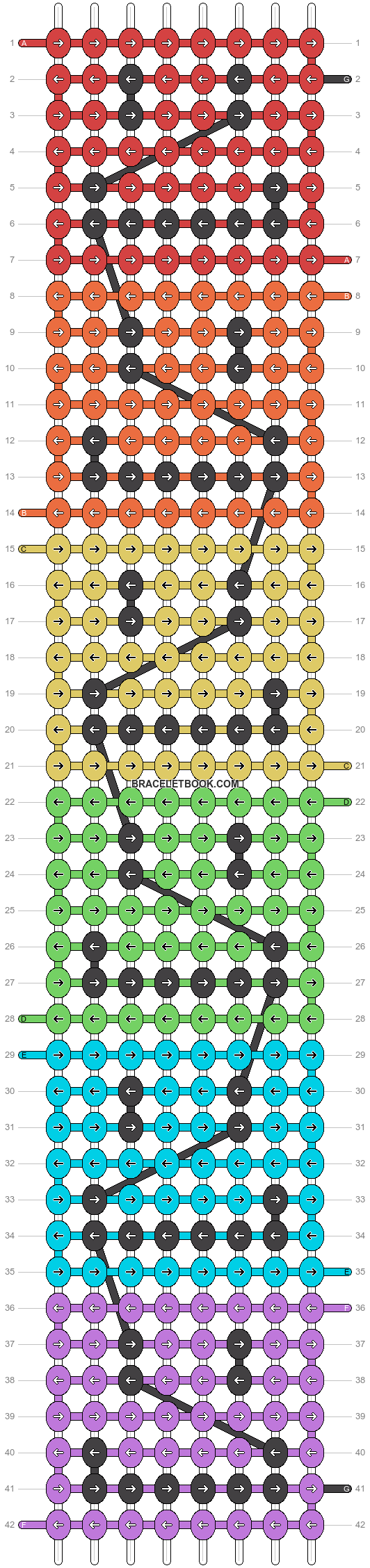 Alpha pattern #11305 pattern