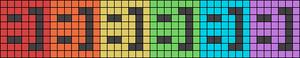 Alpha pattern #11305