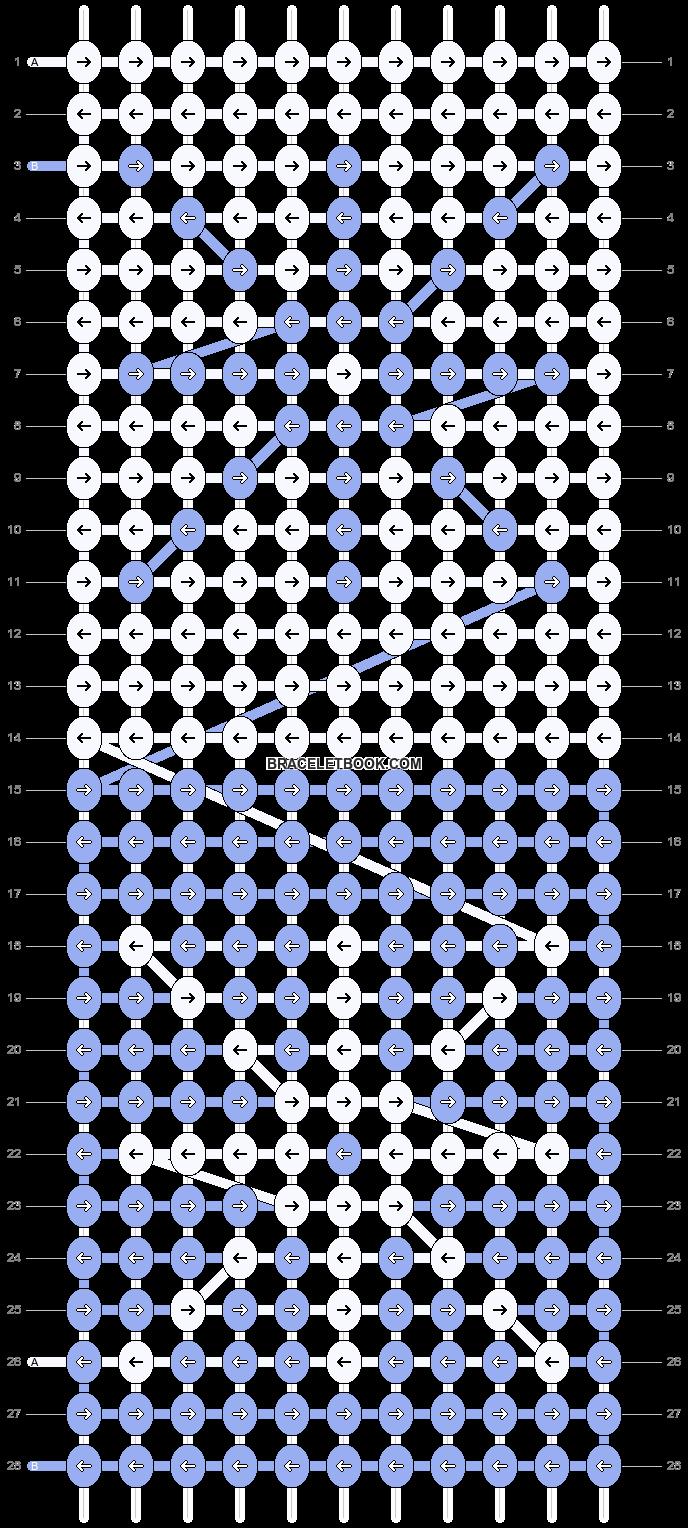 Alpha pattern #11307 pattern
