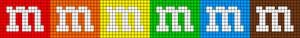 Alpha Friendship Bracelet Pattern #11315