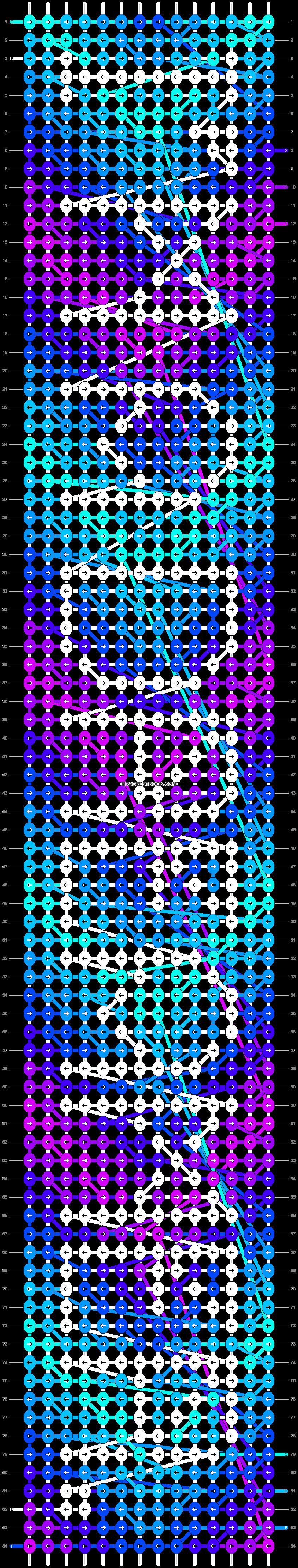 Alpha pattern #11316 pattern