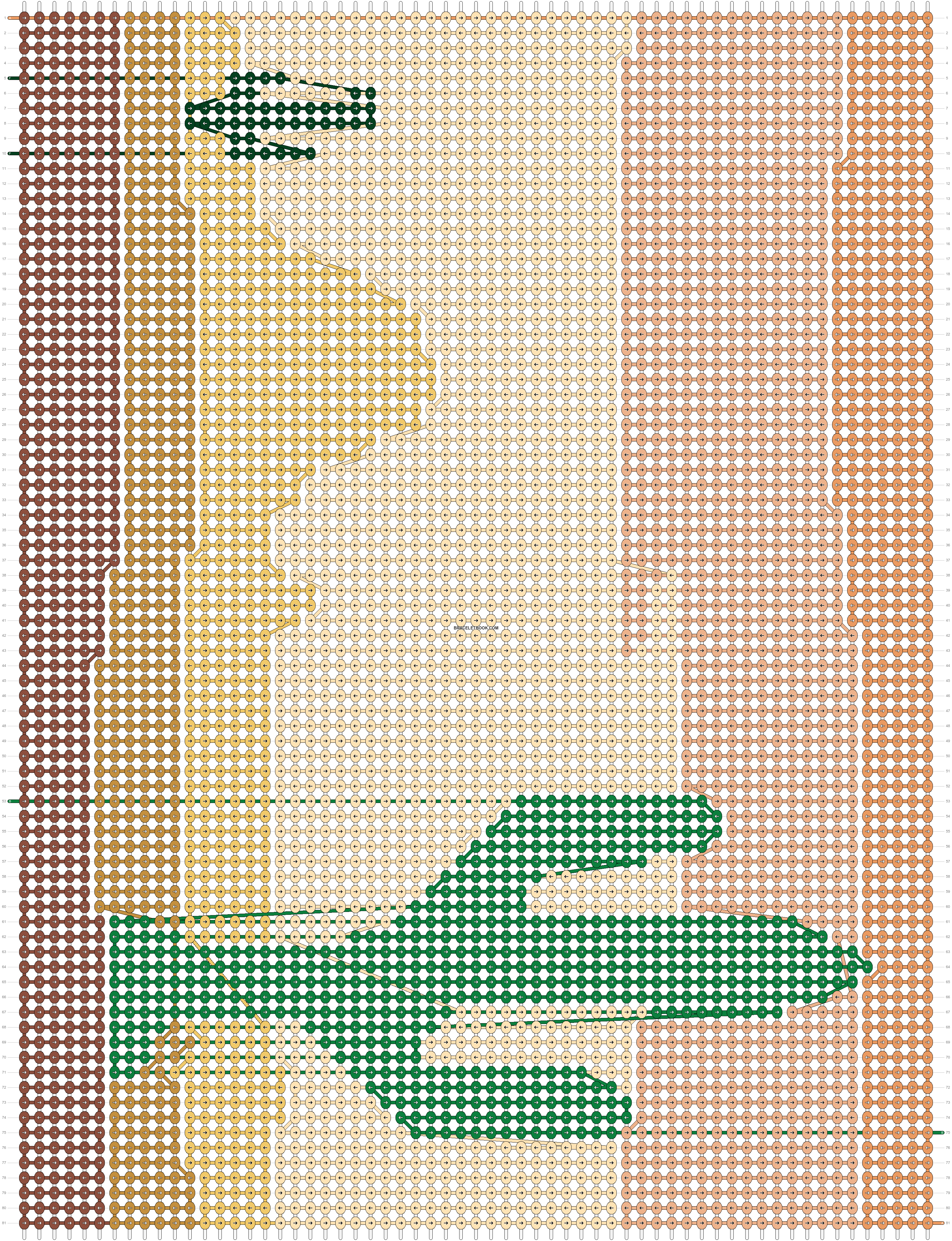 Alpha pattern #11334 pattern
