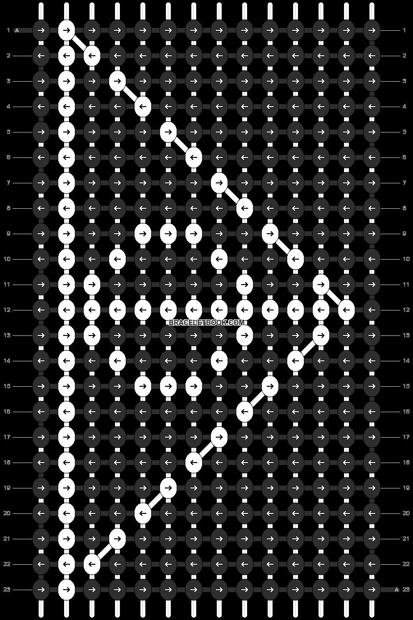 Alpha pattern #11338 pattern