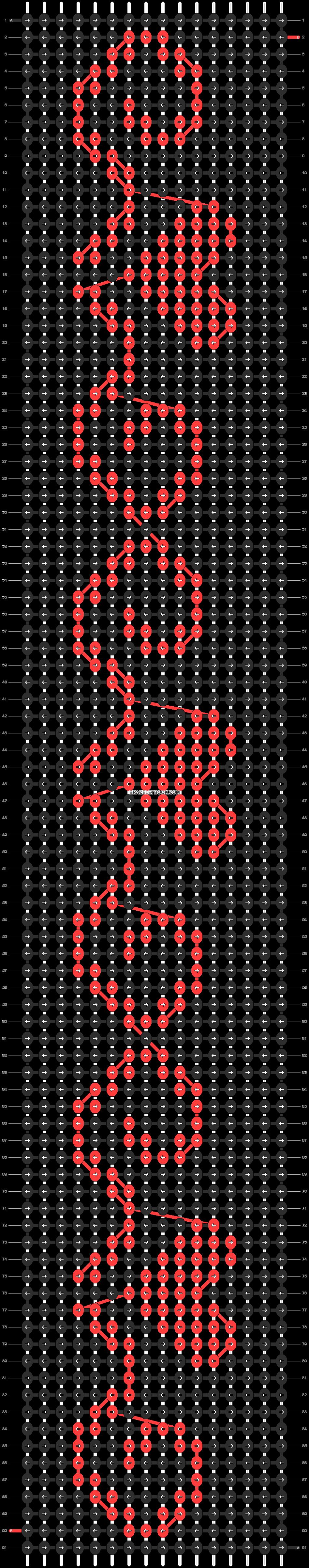 Alpha pattern #11342 pattern