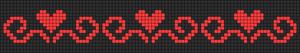 Alpha Friendship Bracelet Pattern #11342